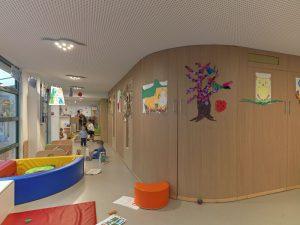 intérieur crèche EAJE saint-martin, vienne agglomération