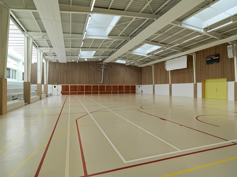 gymnase hall sports lozanne